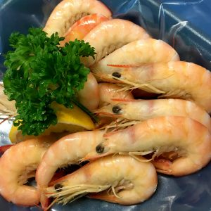 Cooked Northern King Prawns