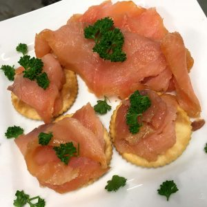Smoked Salmon Trims